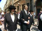 The Jewish wedding Stock Footage