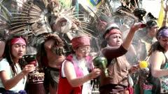 Precolombian offert Stock Footage