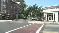 Crosswalk on intersection (1 of 3) Stock Footage