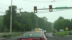 Traffic confusion 1c - stock footage