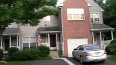 Townhomes 1c Stock Footage