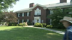 Town administration building (1 of 3) Stock Footage