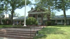 Town administration building (2 of 3) Stock Footage
