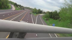 Dutched overpass view 2c Stock Footage