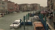 Rain in Venice Italy Stock Footage