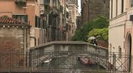 Stock Video Footage of Venice Canals in the Rain