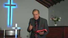 Evangelical Fundamentalist Preacher Preaching 3 Stock Footage