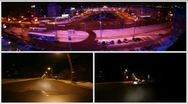 Montage of traffic timelapses. Stock Footage