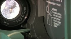 Close up Projector (various shots) - stock footage