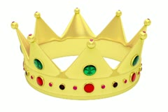 Golden crown NTSC Stock Footage