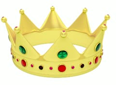 Golden crown WEB BIG - stock footage