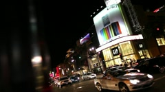 Hollywood Blvd 02 HD - stock footage