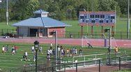 Boys High School Soccer practice (6 of 6) Stock Footage