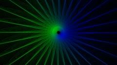 Shimmering Vortex Loop HD 1080 - stock footage