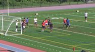Stock Video Footage of Boys High School Soccer practice (2 of 6)