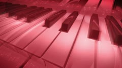 Flying Piano - stock footage