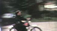 TEENAGE MOTORCYCLE Dirt Bike Gang Boys 1960s Vintage Retro Film Home Movie 1925 Stock Footage