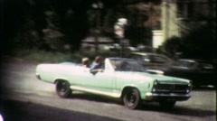 Teenage Stolen Car Joyride Gang DWI Reckless 1960s Vintage Film Home Movie 1927 - stock footage
