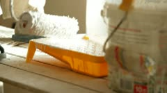 House Painter Stock Footage