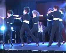 B R O A D W A Y J A Z Z  Modern dances 1 2 Stock Footage