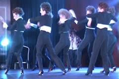 B R O A D W A Y J A Z Z Modern dances ntsc1 2 Stock Footage