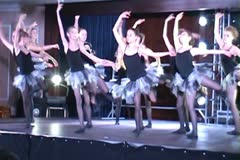Classical dance Modern dances ntsc6 4 Stock Footage