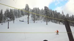 30p HD The southern most ski area in the US Mt. Lemmon, AZ -2 Stock Footage