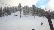 Stock Video Footage of 30p HD The southern most ski area in the US Mt. Lemmon, AZ -2