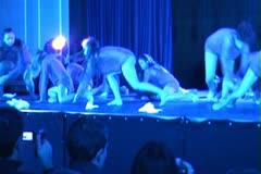 C O N T E M P O R A R Y Modern dances ntsc17 Stock Footage