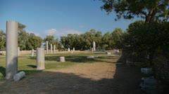 Ashkelon antiquities P1 - stock footage