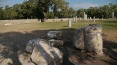 Ashkelon antiquities P2 - stock footage