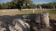 Stock Video Footage of Ashkelon antiquities P2