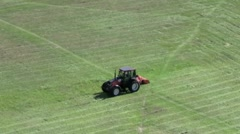 Cutting the Grass 2 Stock Footage