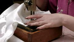 Sewing art always can it is useful Stock Footage