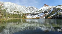 Mountain lake Stock Footage
