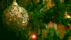 Christmas Decoration - stock footage