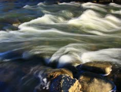 Fast flowing river rapids - 2K Stock Footage