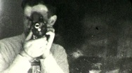 Stock Video Footage of Man with Camera Circa 1946 (Vintage Film Home Movie) 1959