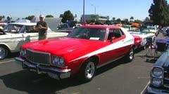 1970 Ford Torino Muscle Car Car Show Arkistovideo