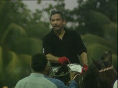 Sultan of Brunei Stock Footage
