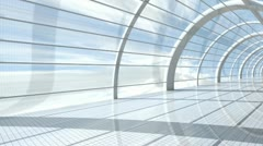 Airport Architecture Stock Footage