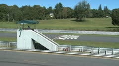 Lookout tower on race track (5 of 5) Stock Footage
