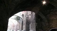 Underground street of Guanajuato, Mexico Stock Footage
