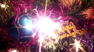 New Year sparks Stock Footage