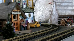 G Scale Trains 2 Stock Footage