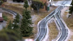 N Scale Trains 5 Stock Footage