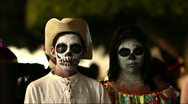 Stock Video Footage of Day of the dead in Mexico