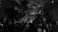 Party-Black&White Stock Footage