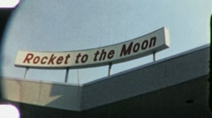 Disneyland Rocket to the Moon noin 1965 (vintage Film Home Movie) 2012 Arkistovideo