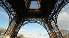 Paris, Eiffel Tower Stock Footage